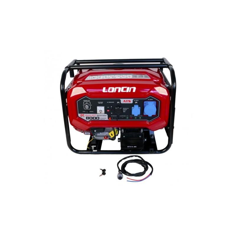 GENERATOR LONCIN 7.0 KW 220V CU AUTOMATIZARE - LC8000D-DC