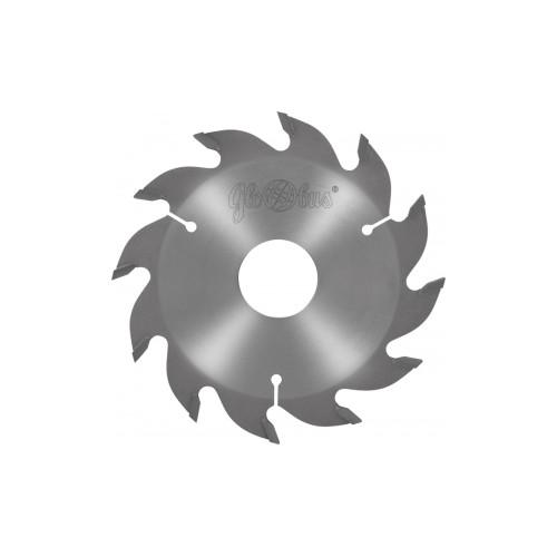 Panze circulare placate 160x30x5.0/4.0/36 z