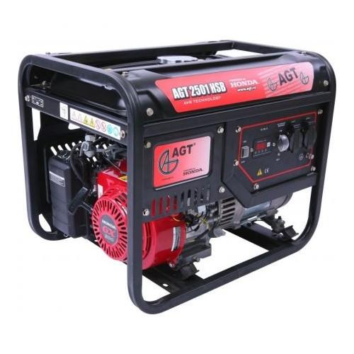 Generator de curent AGT 2501 TTL, motor Honda, 2300 W, autonomie 15h