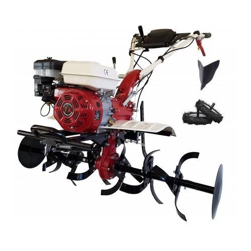 Motocultor profesional 7100CF de 7 CP cu freza de 110 cm +roti+ rarita fixa profesionala