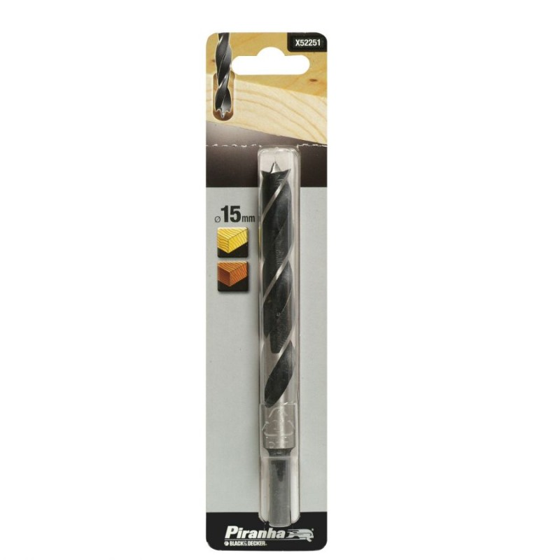 Burghiu pentru lemn Black+Decker - X52251