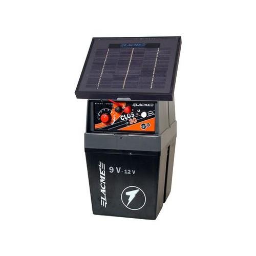 Gard electric Lacme Clos 30 cu panou solar de 2 W.